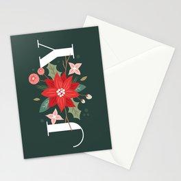 Joy Flourish - Pine Stationery Cards