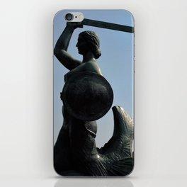 The Mermaid of Warsaw iPhone Skin