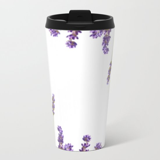 Purple Lavender #2 #decor #art #society6 Metal Travel Mug