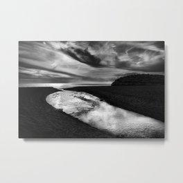 """""""River join sea"""" Metal Print"""