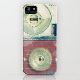 Vintage Camera Love: Pink Kodak Hawkeye Flashfun! iPhone Case