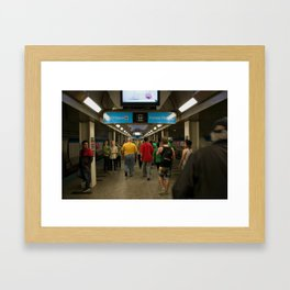 Chicago Blueline 1 Framed Art Print