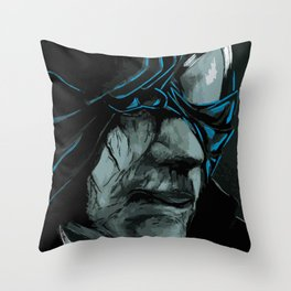 Black Suit Myers Throw Pillow
