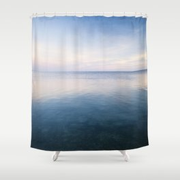 oh, Sea, how I love thee Shower Curtain