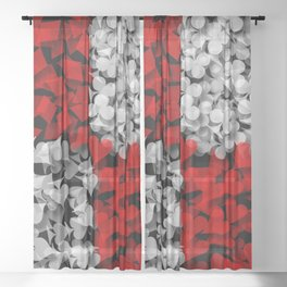 Lucky Gambler Sheer Curtain