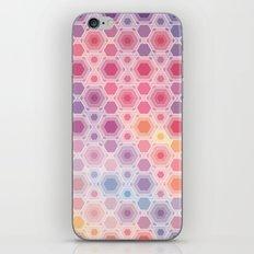 Hexagonal multicolor iPhone & iPod Skin