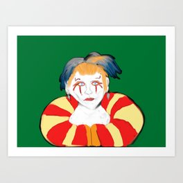 Kefka Art Print