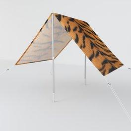 Faux Siberian Tiger Skin Design Sun Shade