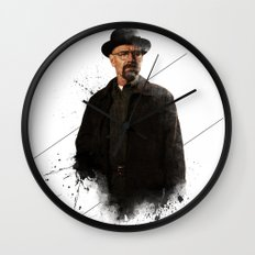 Mr. White Wall Clock