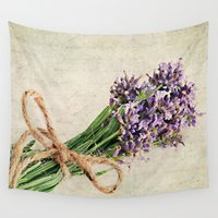 lavender Wall Tapestries featuring Lavender by ThePhotoGuyDarren