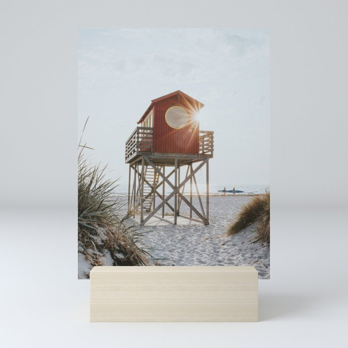 Summer at the beach - Landscape and Nature Photography Mini Art Print