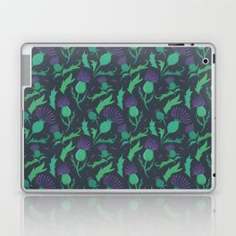 Scottish Thistle Pattern Laptop & iPad Skin