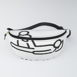 physiotherapist physical therapy gift saying funny Fanny Pack