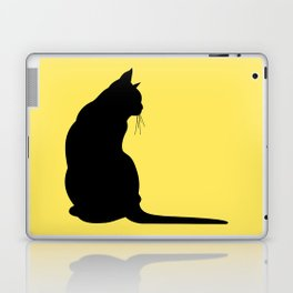 Cat's silhouette Laptop & iPad Skin
