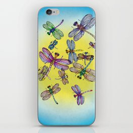 Dragonflies iPhone Skin