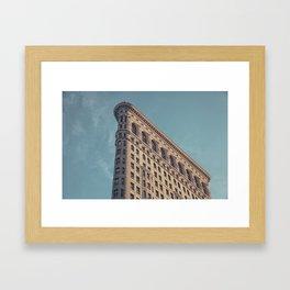 Building new york Framed Art Print