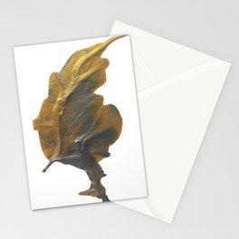 Golden Leaf Stationery Cards
