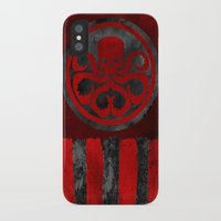 hydra iPhone & iPod Cases featuring Captain Hydra by Some_Designs