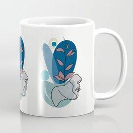 the test of blue Coffee Mug