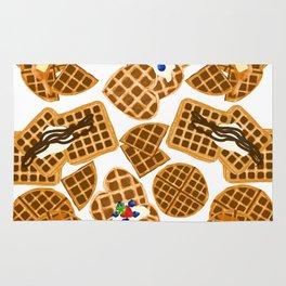 Waffle On Rug
