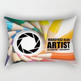 mandykae website opener Rectangular Pillow