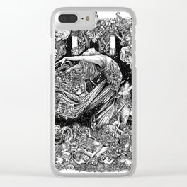 Terpsichore Clear iPhone Case