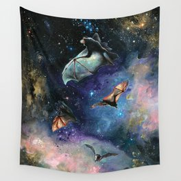 Scream of a Great Bat Wall Tapestry