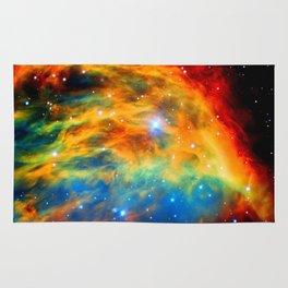 Rainbow Medusa Nebula Rug