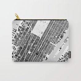 New York building city map Carry-All Pouch