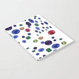 ASSORTED GEMS RAINING Notebook