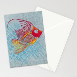 Stitches: Narrow Escape Stationery Cards