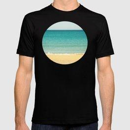 Beach,Sea & Sky - abstract T-shirt