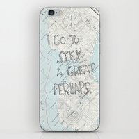 looking for alaska iPhone & iPod Skins featuring Looking for Alaska by Hoeroine