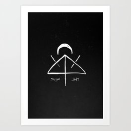 Midnight Thoughts Art Print
