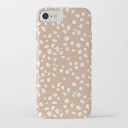 PEACH PEBBLES iPhone Case
