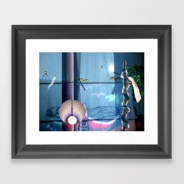 Huelek Framed Art Print