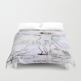 The Time Of Man Duvet Cover