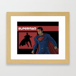 supermad Framed Art Print