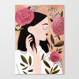 Meg Canvas Print