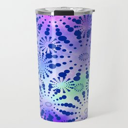 Candys Hippie Design 3 Travel Mug