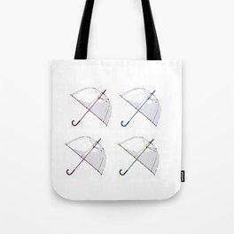 Umbrella Pop Tote Bag