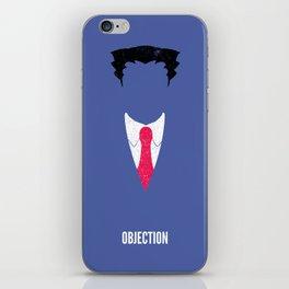 Phoenix Wright - Objection iPhone Skin