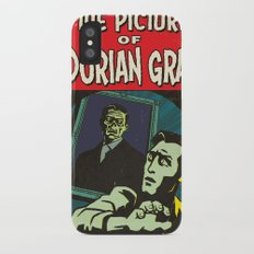 Oscar Wilde's Dorian Gray: Vintage Comic Cover iPhone X Slim Case