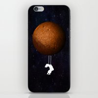 mars iPhone & iPod Skins featuring Mars by Cs025