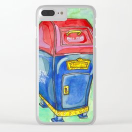 Toontown Post Clear iPhone Case