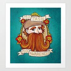 Movember Art Print