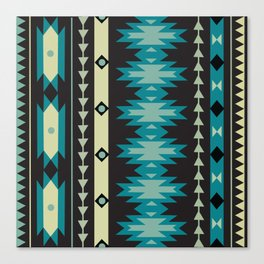 American Native Pattern No. 174 Canvas Print
