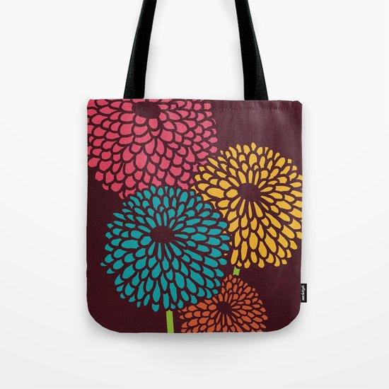 Still Life Chrysanthemum Tote Bag