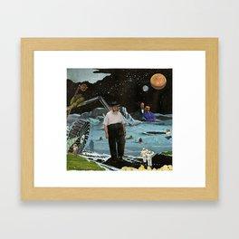 Lunar Landscape Framed Art Print
