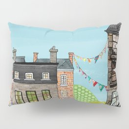 Houses are Homes Pillow Sham